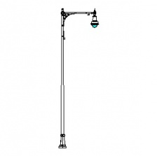 Cambridge Series Base w/ Cambridge Series Single Arm & Boston Common-18 Series Luminaire